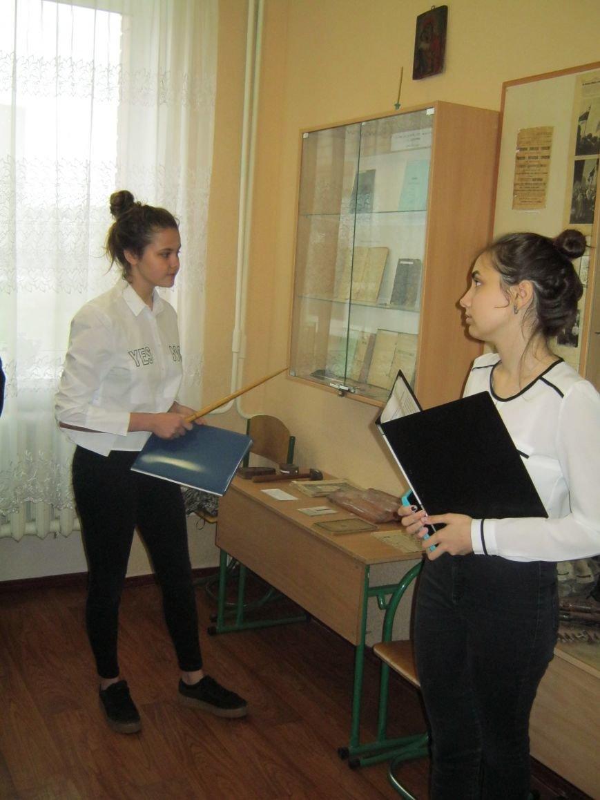 У НВК м.Покровська урочисто перерізано червону стрічку в музеї «Епоха і школа», фото-3