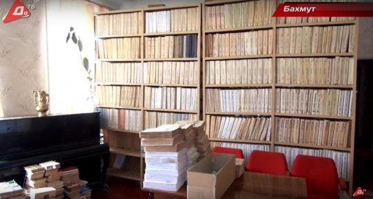 Бахмутские слепые отстаивают свою библиотеку, фото-3