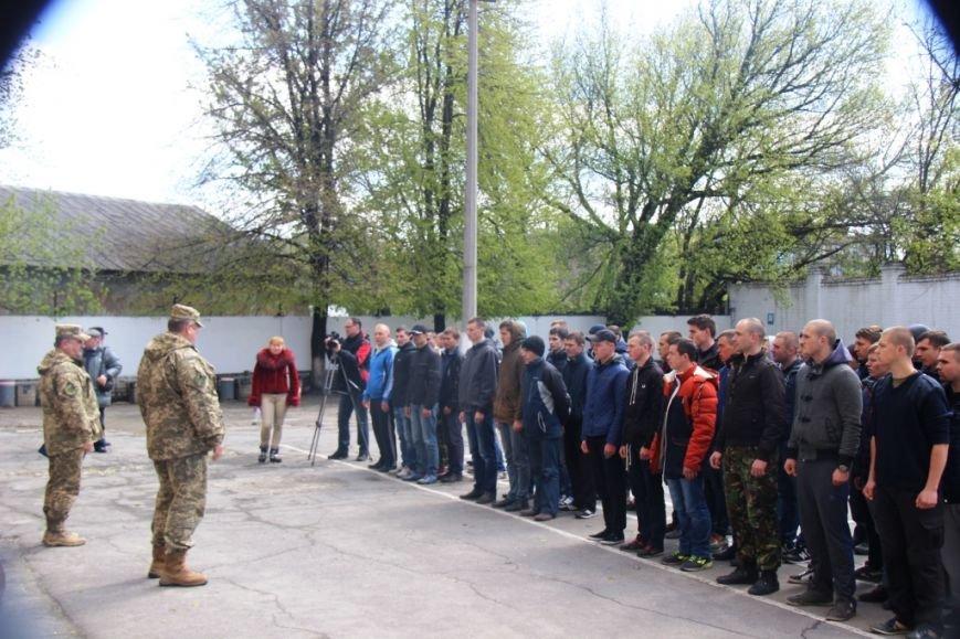 В Херсоне отправили 50 призывников в армию (фото), фото-2