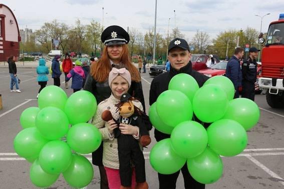 На Сумщині пройшов Всеукраїнський флешмоб з безпеки дорожнього руху (ФОТО), фото-3