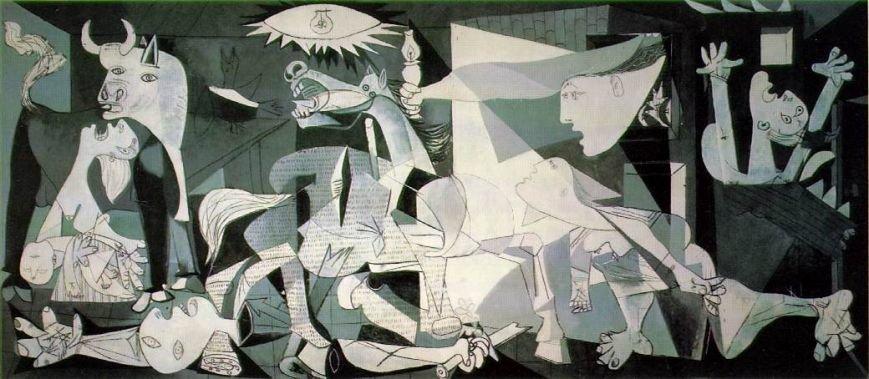 Картина_Пабло_Пікассо_Герніка_1937