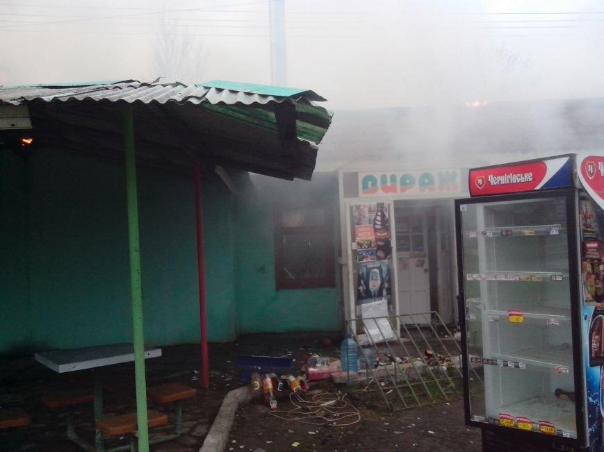 В Бахмутском районе сгорела СТО с автомобилями (ФОТО), фото-2