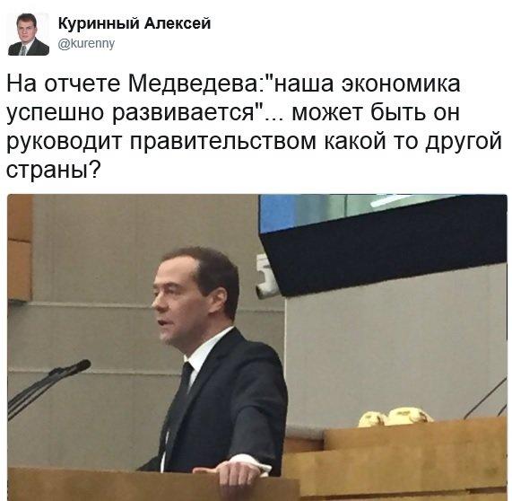 Ульяновский депутат раскритиковал Медведева, фото-1