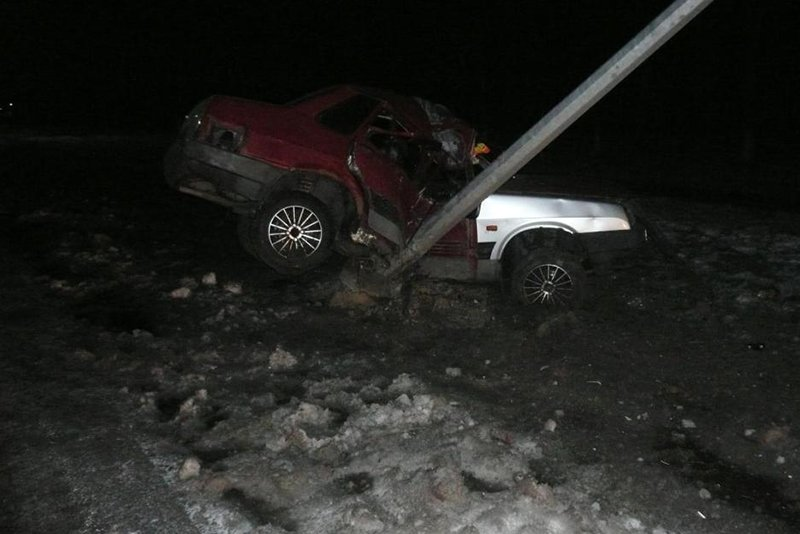 Занос на скользкой дороге стал причиной двух ДТП под Шебекино, фото-3