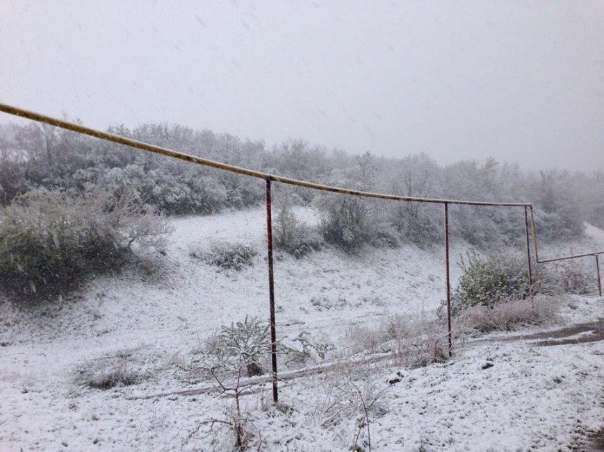 13,5 сантиметров, я в шоке! Девушка измерила ...снежный покров в Одесской области (ВИДЕО), фото-6