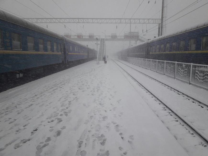 13,5 сантиметров, я в шоке! Девушка измерила ...снежный покров в Одесской области (ВИДЕО), фото-13