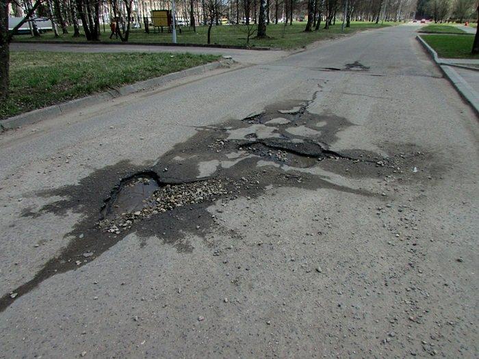 Где в Новополоцке нужно починить дорогу. ФОТОФАКТ, фото-9
