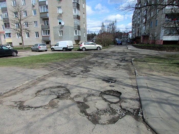 Где в Новополоцке нужно починить дорогу. ФОТОФАКТ, фото-13