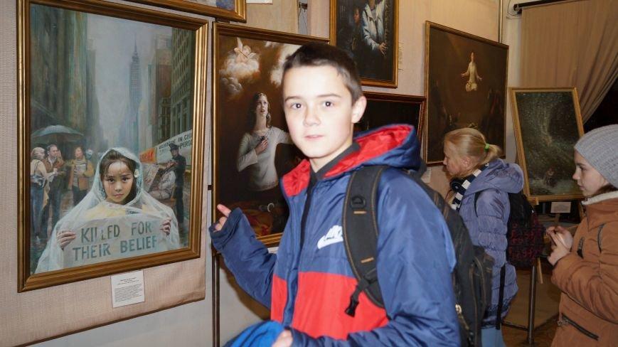 В Павлограде проходит Международная художественная выставка, фото-2