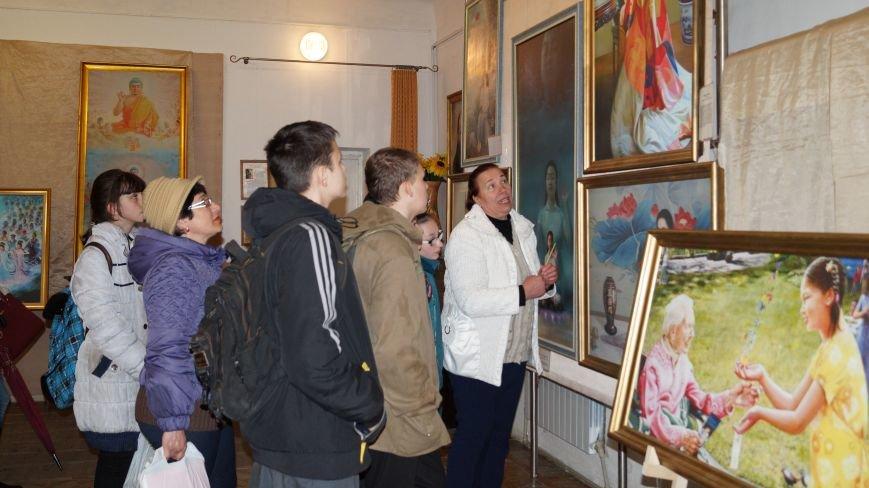 В Павлограде проходит Международная художественная выставка, фото-1