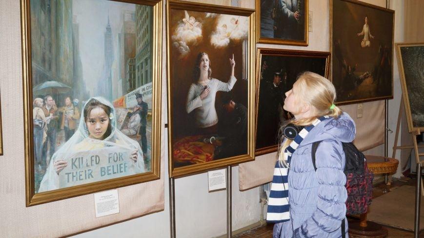 В Павлограде проходит Международная художественная выставка, фото-3