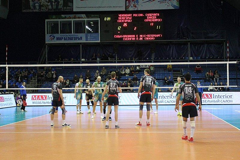 «Белогорье» победило «Енисей» в первом матче плей-офф Суперлиги, фото-8