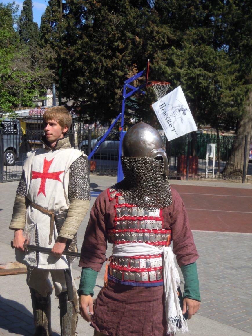 Для ялтинских школьников провели урок, посвященный Ледовому побоищу, фото-1