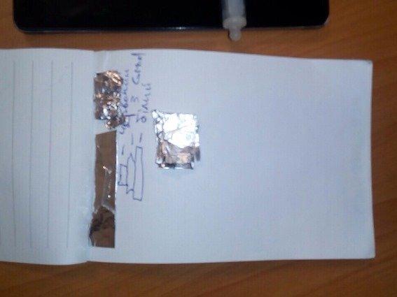 На Мукачівщині затримали неадекватного працівника підприємства зі шприцом, у якому був наркотик: фото, фото-2