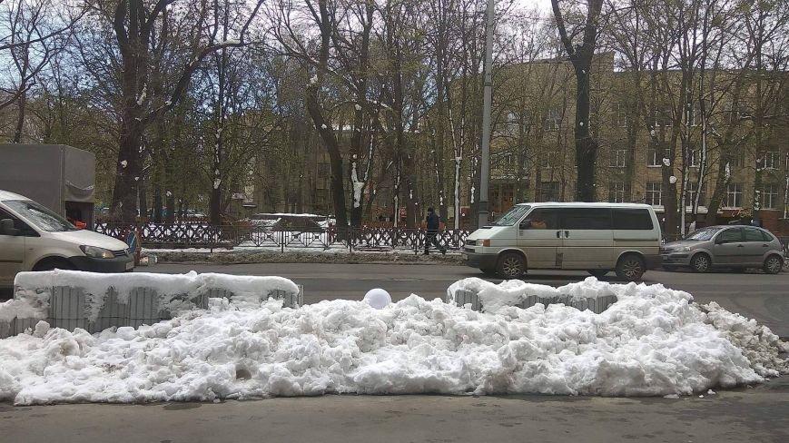 Цветы под снегом, или Зима весной: какое оно, 21 апреля, в разных городах Украины (ФОТОРЕПОРТАЖ+КАРТА), фото-6