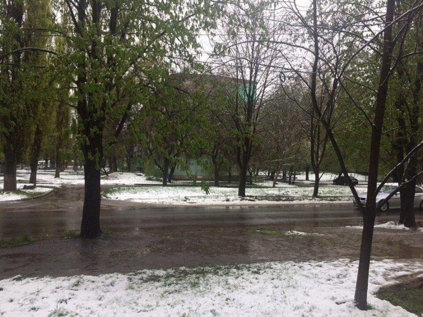 Цветы под снегом, или Зима весной: какое оно, 21 апреля, в разных городах Украины (ФОТОРЕПОРТАЖ+КАРТА), фото-8
