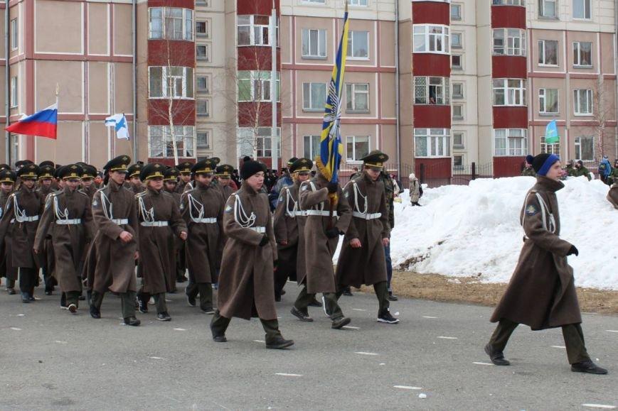 «Победа одна на всех!» В Нижневартовске состоялась репетиция парада к 9 мая // ВИДЕО, фото-1