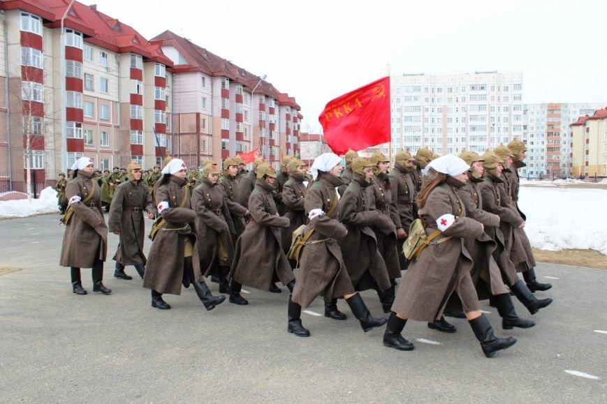 «Победа одна на всех!» В Нижневартовске состоялась репетиция парада к 9 мая // ВИДЕО, фото-5