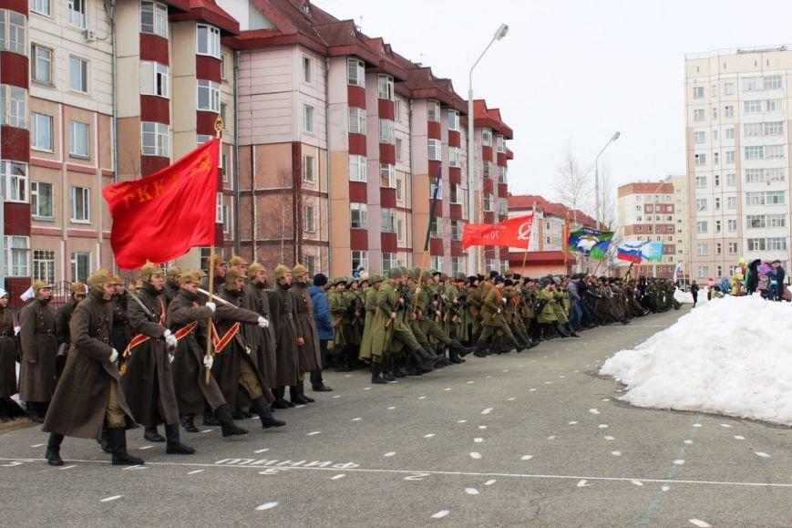 «Победа одна на всех!» В Нижневартовске состоялась репетиция парада к 9 мая // ВИДЕО, фото-6
