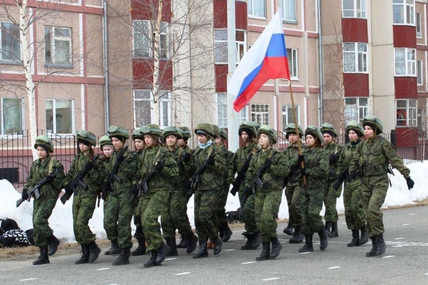 «Победа одна на всех!» В Нижневартовске состоялась репетиция парада к 9 мая // ВИДЕО, фото-4