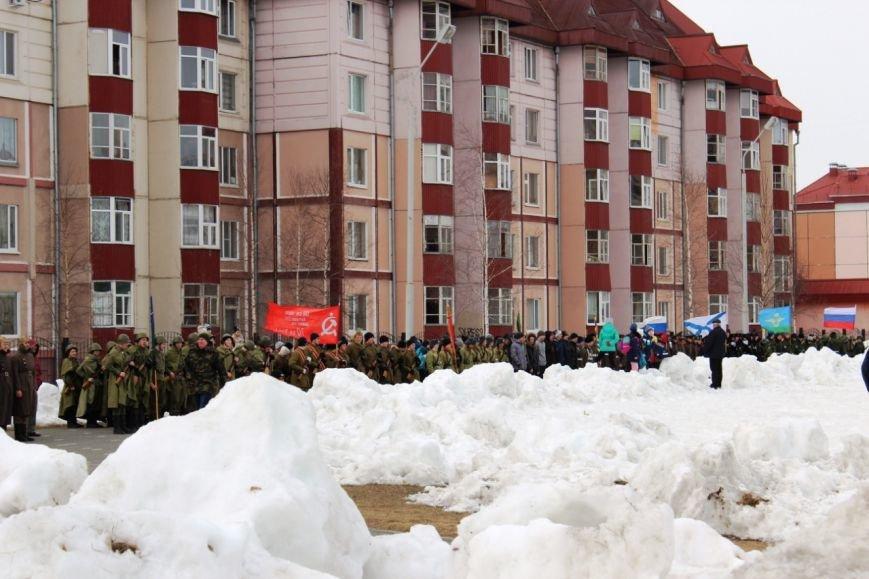 «Победа одна на всех!» В Нижневартовске состоялась репетиция парада к 9 мая // ВИДЕО, фото-7