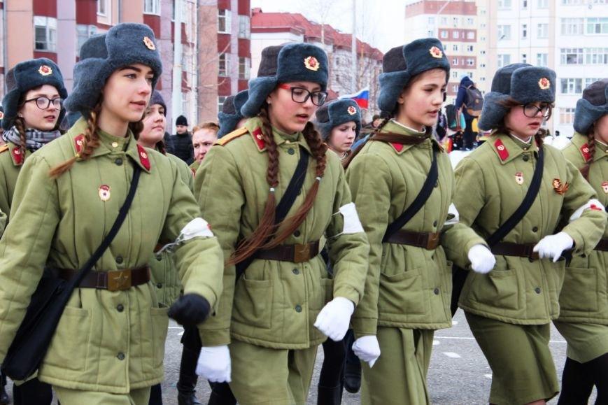 «Победа одна на всех!» В Нижневартовске состоялась репетиция парада к 9 мая // ВИДЕО, фото-2