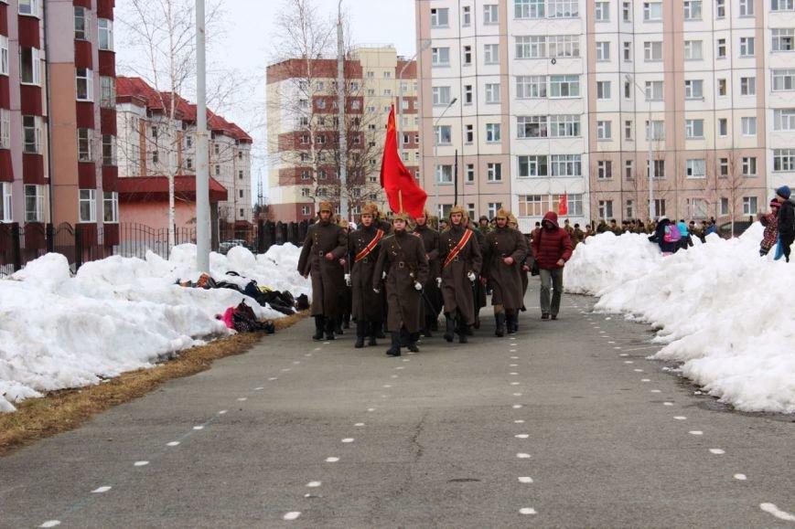 «Победа одна на всех!» В Нижневартовске состоялась репетиция парада к 9 мая // ВИДЕО, фото-3