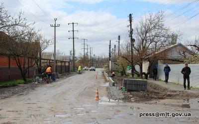 В Мелитополе ремонтируют очередную дорогу, фото-2