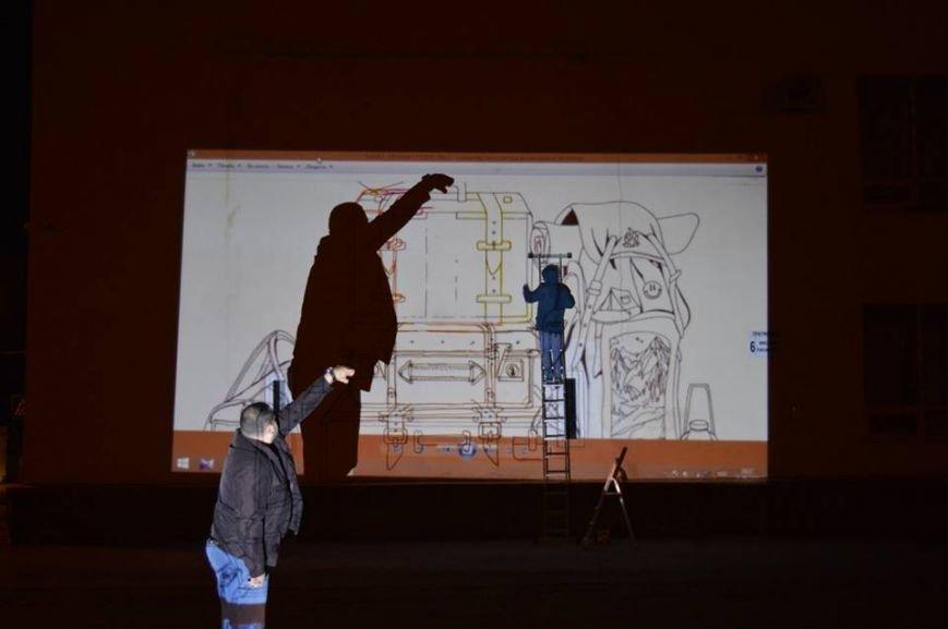 Платформу северодонецкого автовокзала украсит удивительный мурал (фото), фото-4
