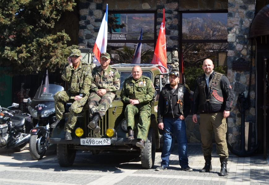 В честь годовщины освобождения Ялты от фашистских захватчиков в Гурзуфе прошел ряд праздничных мероприятий (2)