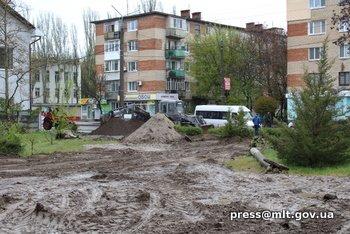 В Мелитопольской спортшколе идет ремонт, фото-2