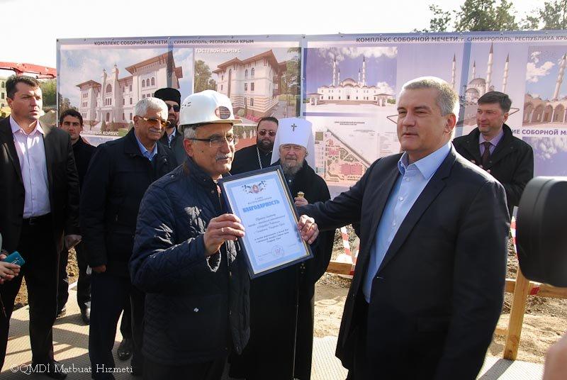 В Симферополе заложили фундамент будущей Соборной мечети (ФОТО), фото-5