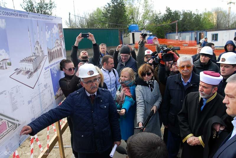 В Симферополе заложили фундамент будущей Соборной мечети (ФОТО), фото-1