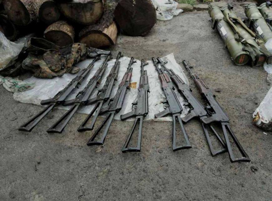 В Донецкой области задержали двух боевиков «ДНР» с огромным арсеналом оружия (ФОТО), фото-7