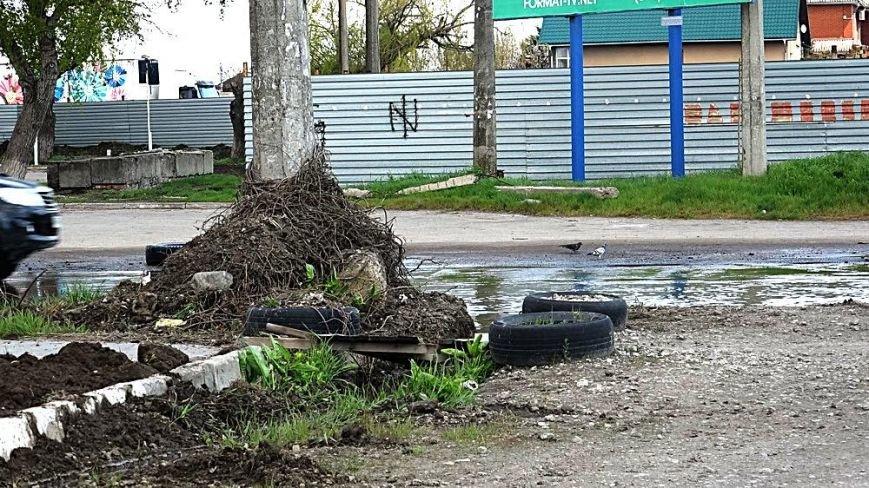 """Водой из огромной лужи на ул.Флотской решили затопить поселок """"Бригантина"""" (ФОТО), фото-2"""