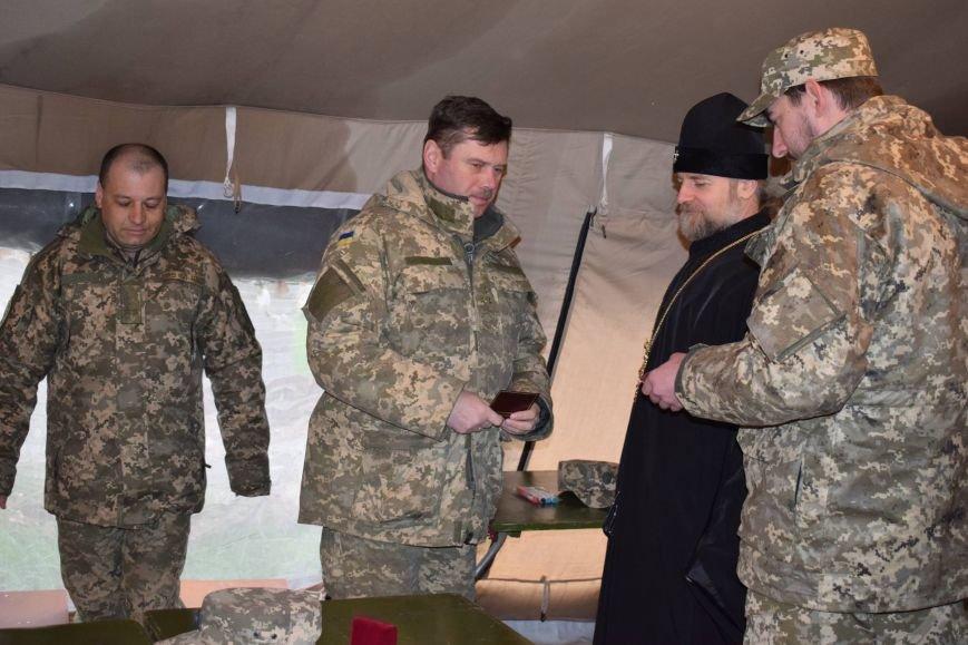 Бойцов АТО в секторе «Мариуполь» наградил Киевский патриархат (ФОТО), фото-1