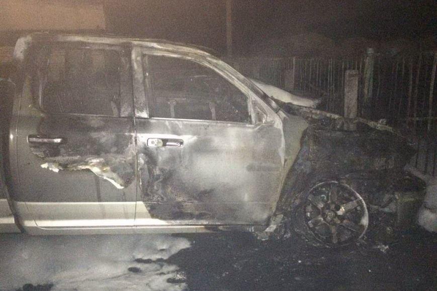 В Харькове на автостоянке сгорели три иномарки (ФОТО), фото-2