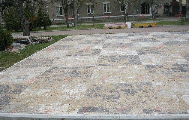 Бердянск - шахматная доска!
