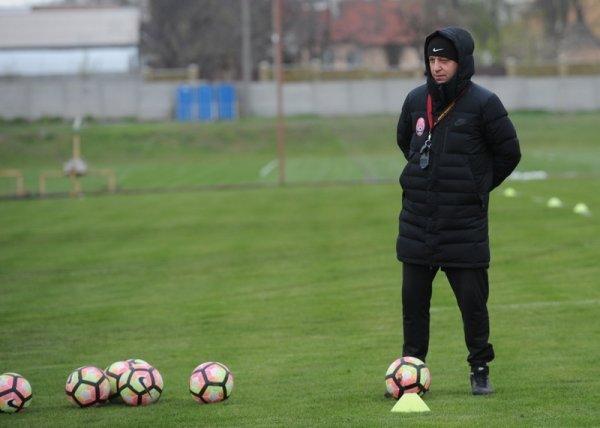Юрий Вернидуб на тренировке