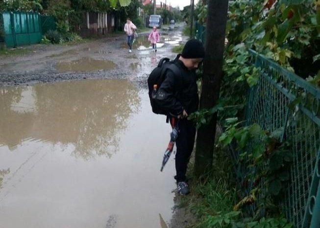 """""""Грошей нема, але ви тримайтеся"""": мерія не ремонтує дорогу на Шишкіна, бо там приватний сектор, фото-1"""