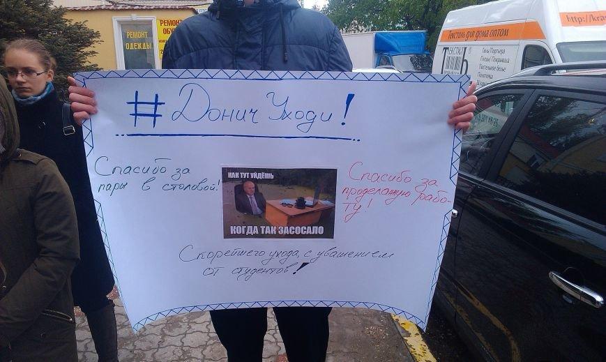 В Симферополе студенты вышли на митинг, призывая Донича подать в отставку (ФОТО, ВИДЕО), фото-4