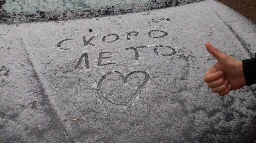 Крымчане в соцсетях хвастают апрельскими снеговиками (ФОТОФАКТ), фото-9