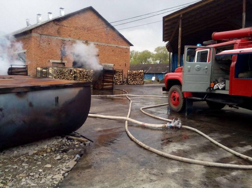 У Перечині на підприємстві сталась пожежа: фото, фото-3