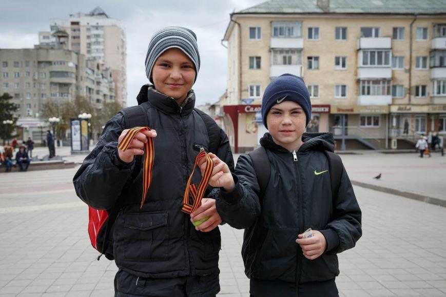 В Белгороде стартовала акция «Георгиевская ленточка», фото-1