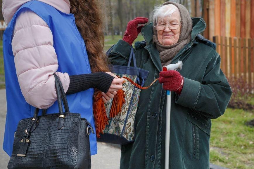 В Белгороде стартовала акция «Георгиевская ленточка», фото-12