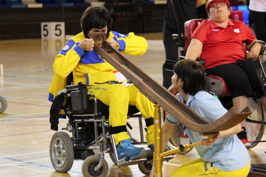 Никопольские ребята из  спортивного клуба инвалидов «Аква» приняли участие в европейском турнире по боччи, фото-2