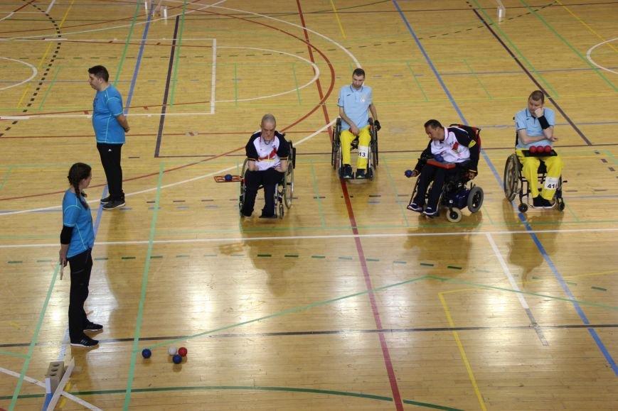 Никопольские ребята из  спортивного клуба инвалидов «Аква» приняли участие в европейском турнире по боччи, фото-6