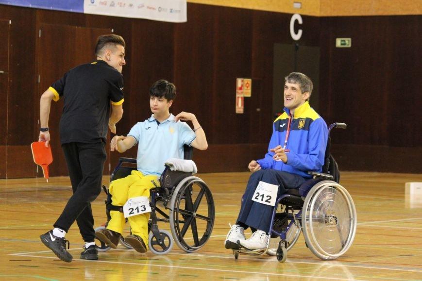 Никопольские ребята из  спортивного клуба инвалидов «Аква» приняли участие в европейском турнире по боччи, фото-3