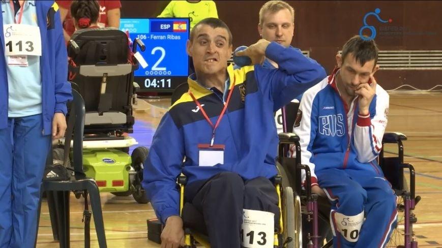 Никопольские ребята из  спортивного клуба инвалидов «Аква» приняли участие в европейском турнире по боччи, фото-7