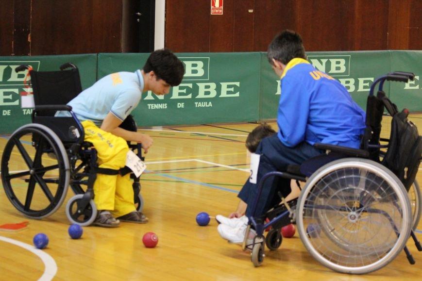Никопольские ребята из  спортивного клуба инвалидов «Аква» приняли участие в европейском турнире по боччи, фото-4